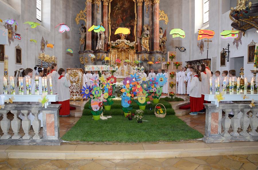 Wir Sind Blumen In Gottes Buntem Garten