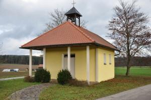 Die Kapelle in Buxlohe - Außenansicht.