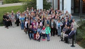 Die zahlreichen Teilnehmerinnen und Teilnehmer der Pfarrwallfahrt – von jung bis alt. (Fotos: Katharina Hartl